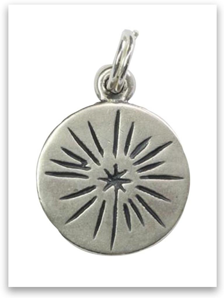 Sterling Silver Shine Charm