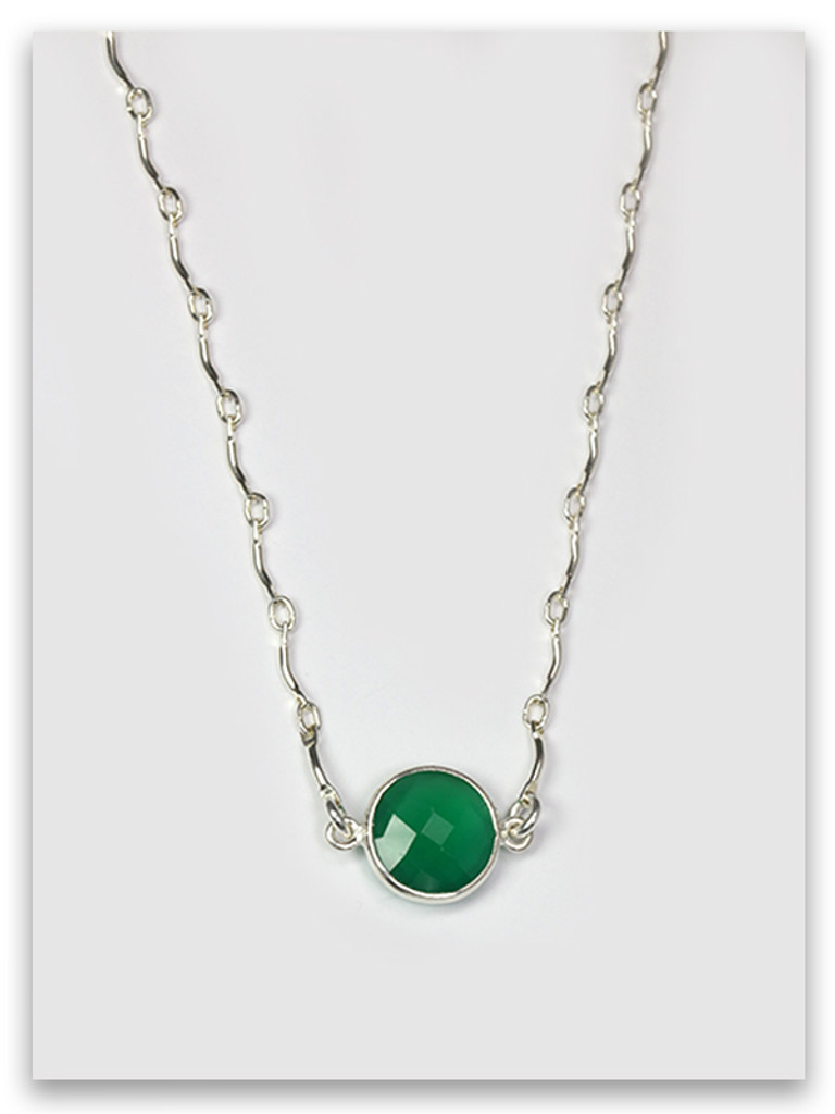 Levi-Emerald Twelve Tribes Necklace