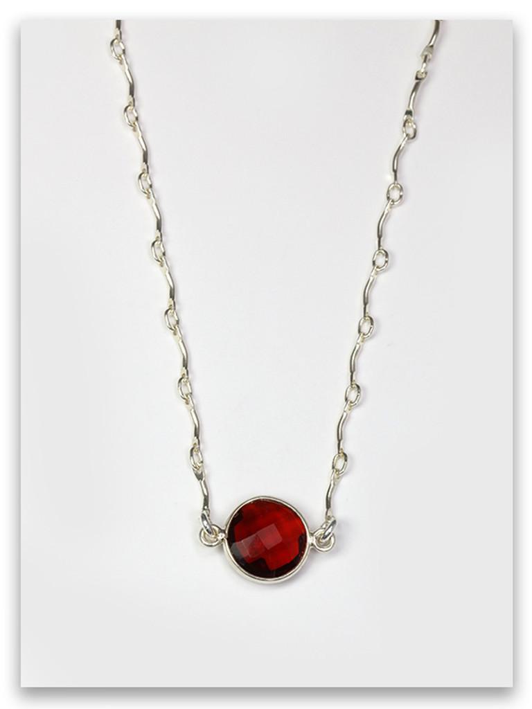 Ruby-Reuben Twelve Tribes Necklace