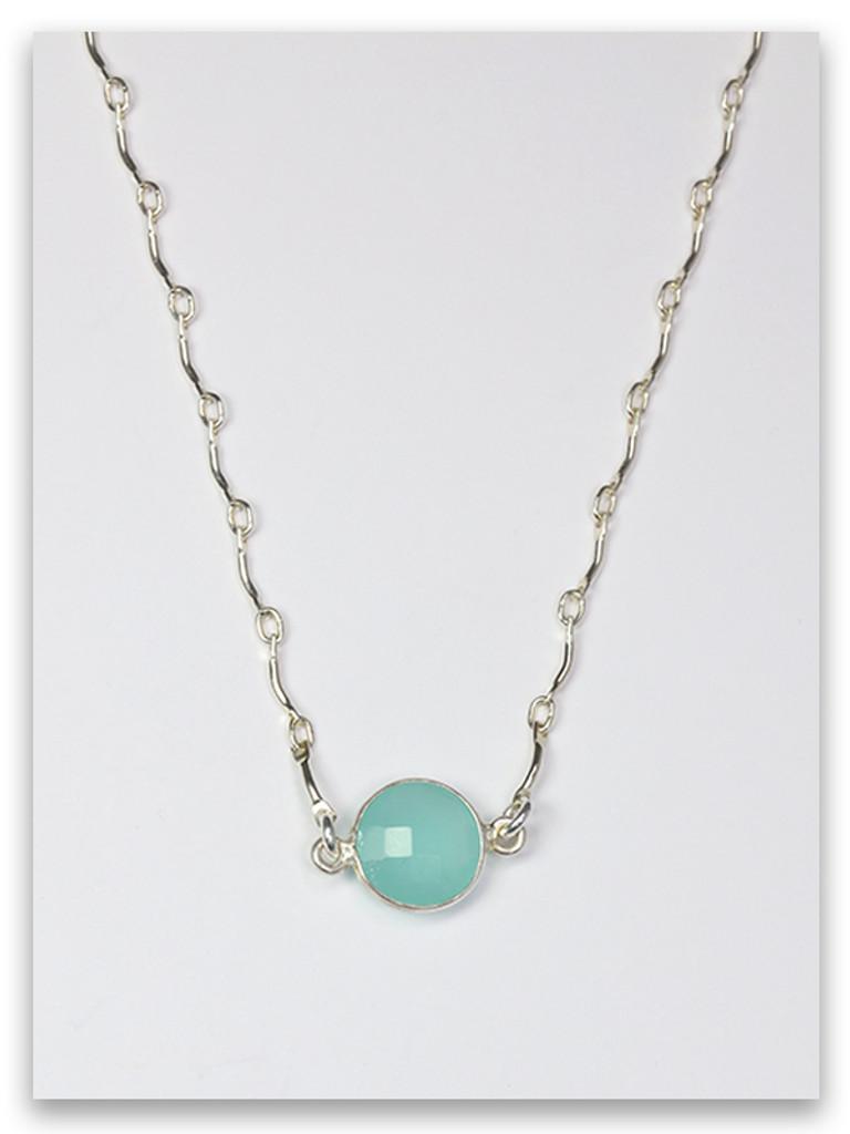 AquaMarine-Asher Twelve Tribes Necklace