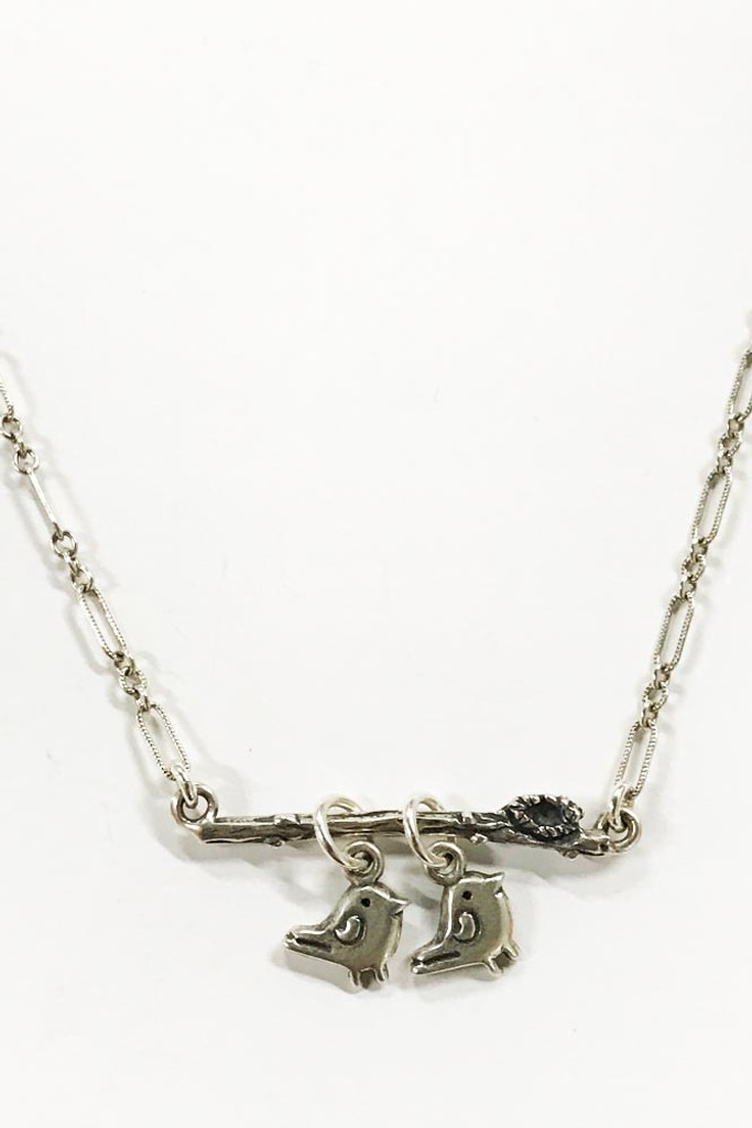Remain Necklace with add on Valuable iTAG Birds