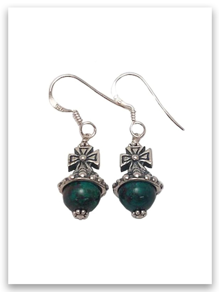 Favor Eilat Stone Earrings from Israel