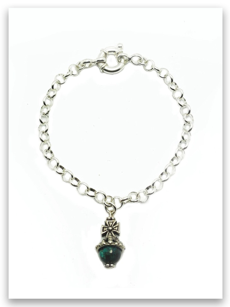 Favor Eilat Stone Royal Scepter Cross Bracelet (SOLD Separately)