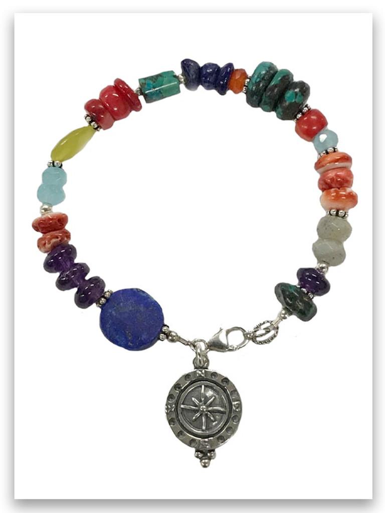 Spirit Lead Me Multi Stone Bracelet