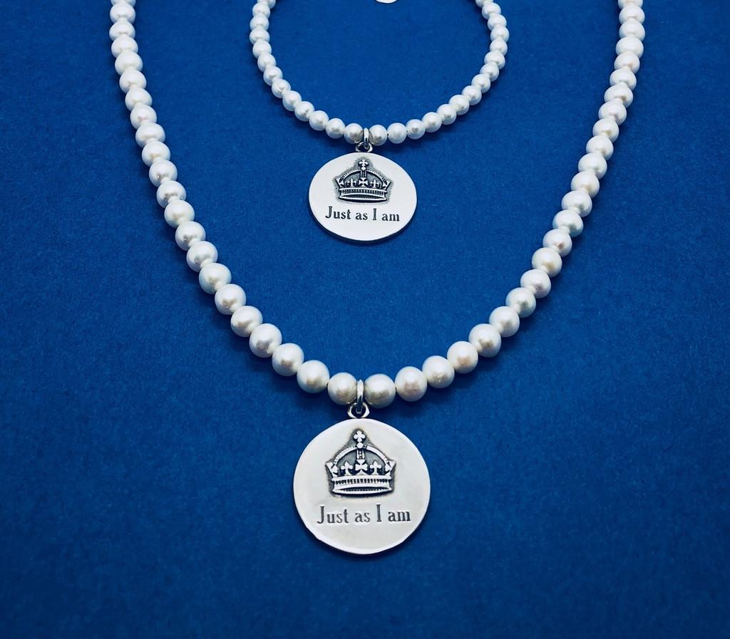 Just As I Am Necklace & Bracelet (sold separately)