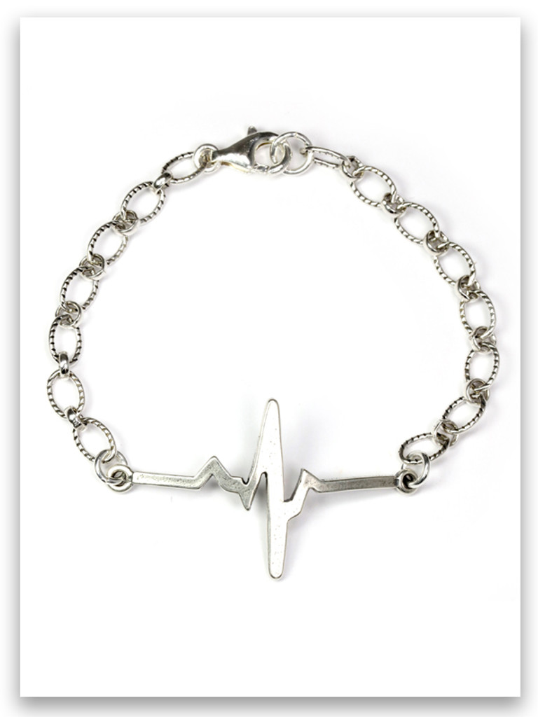 A New Heart Sterling Silver Bracelet