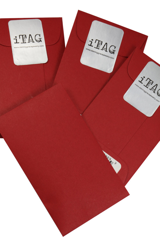 Sterling Grace Signature Red Envelope Packaging