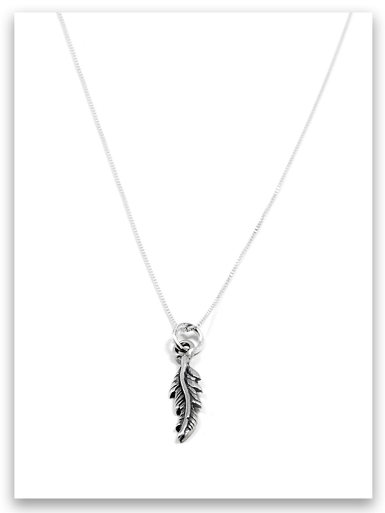 Fly Sterling Silver Necklace