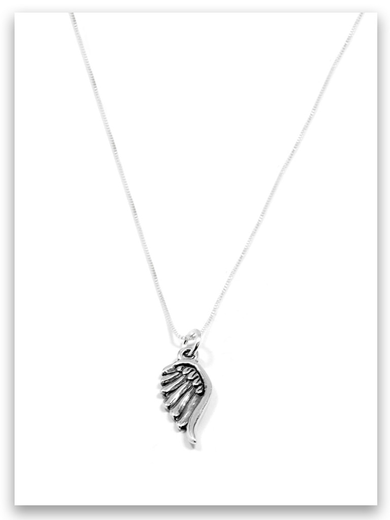 Go For It Sterling Silver Necklace