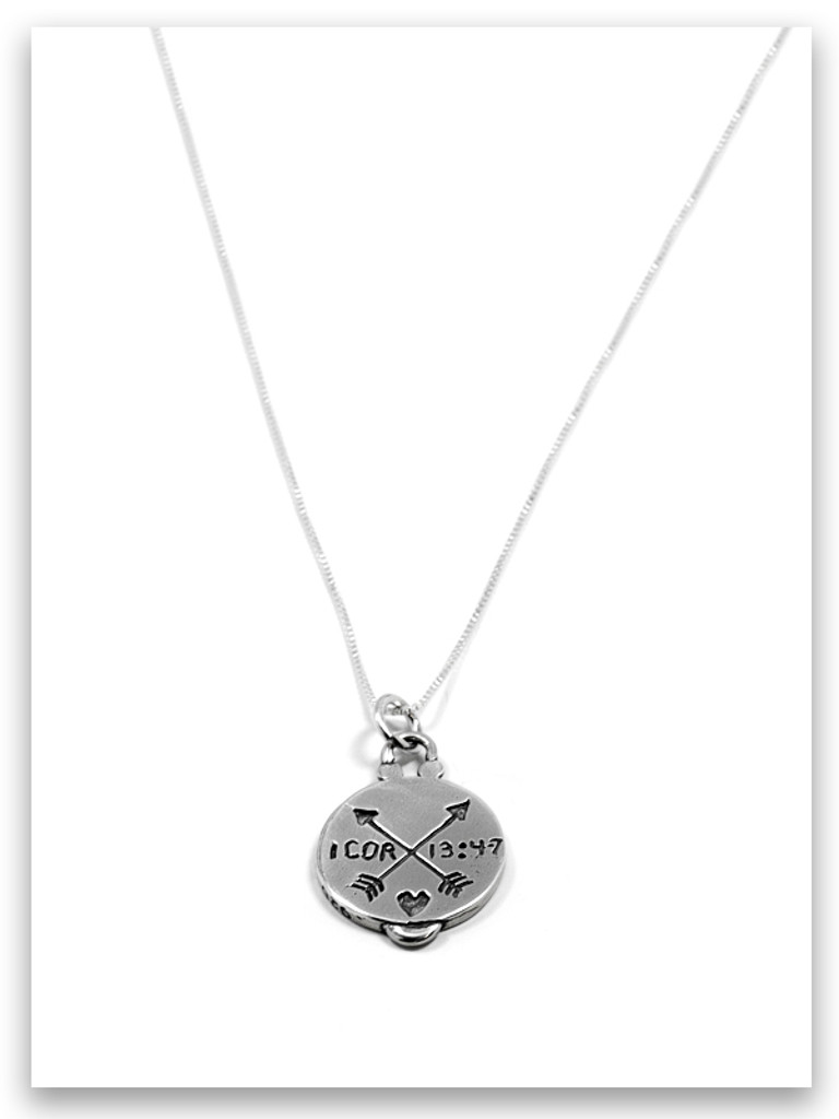 Journey of Light Sterling Silver Charm Necklace