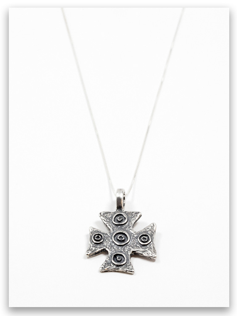 Daniel Cross Sterling Silver Pendant Necklace