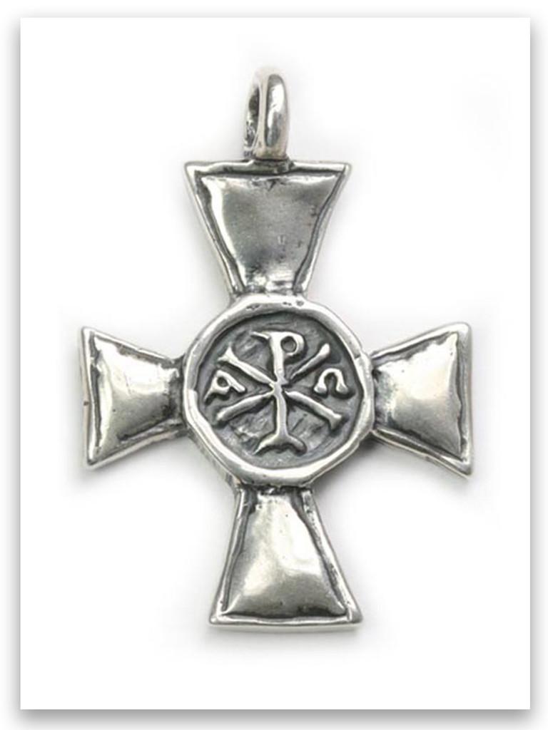 Alpha & Omega Pendant (front)