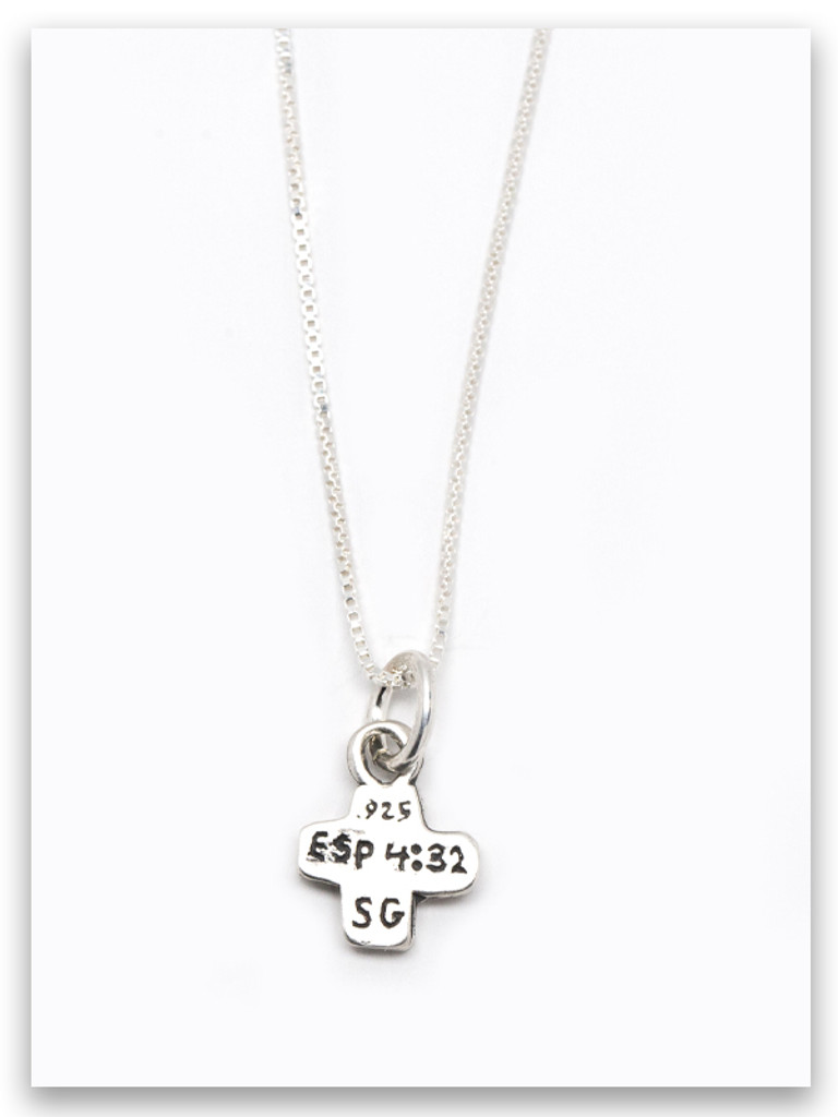 Be Kind Sterling Silver Necklace
