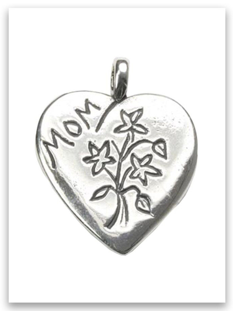 Pendants Children and Baby Charms .925 Sterling Silver Country Side Cuddle Charm Pendant