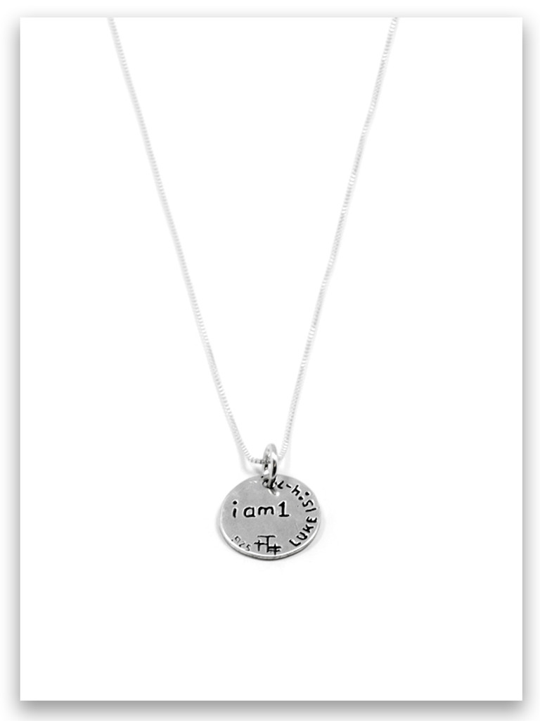 99/1 Sterling Silver iTAG Charm Necklace