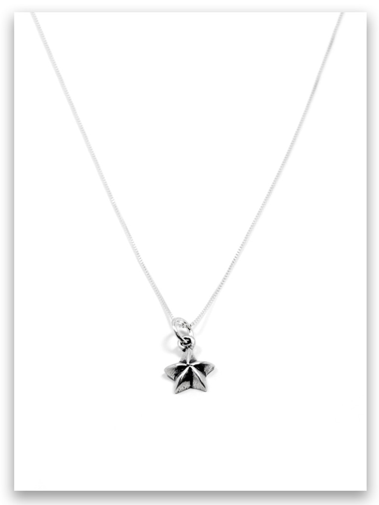 Be A Star iTAG Sterling Silver Necklace