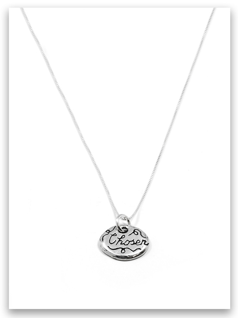 Chosen iTAG Sterling Silver Necklace