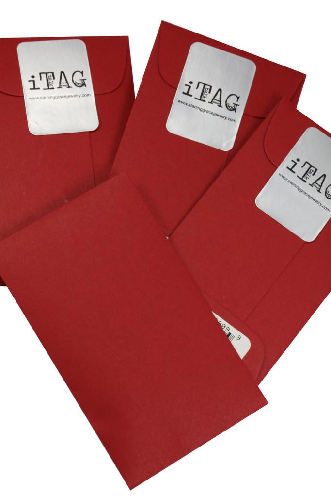 Sterling Grace Signature Red Envelope
