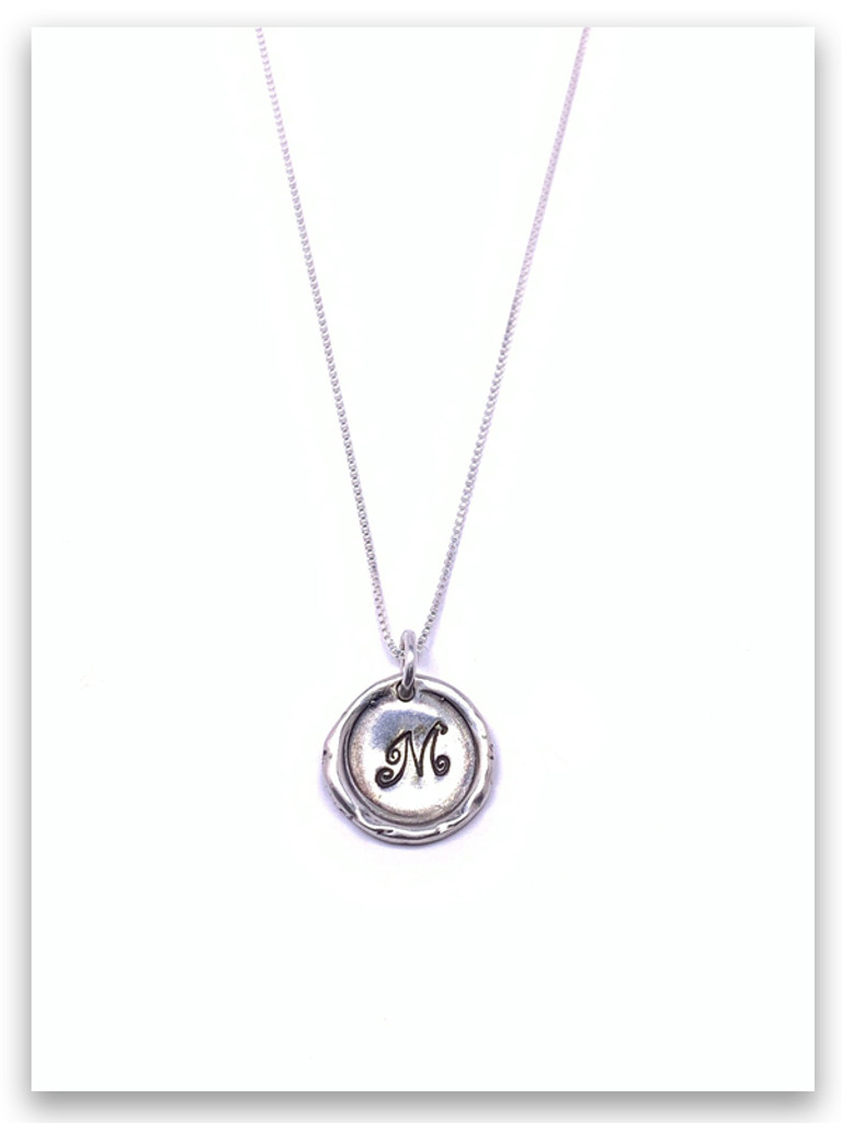 My Name Initial Necklace Sterling