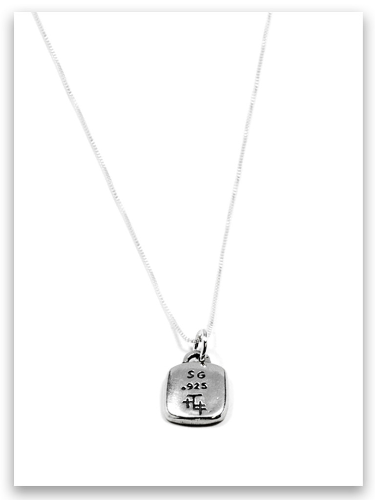 Anticipation Sterling Silver Necklace