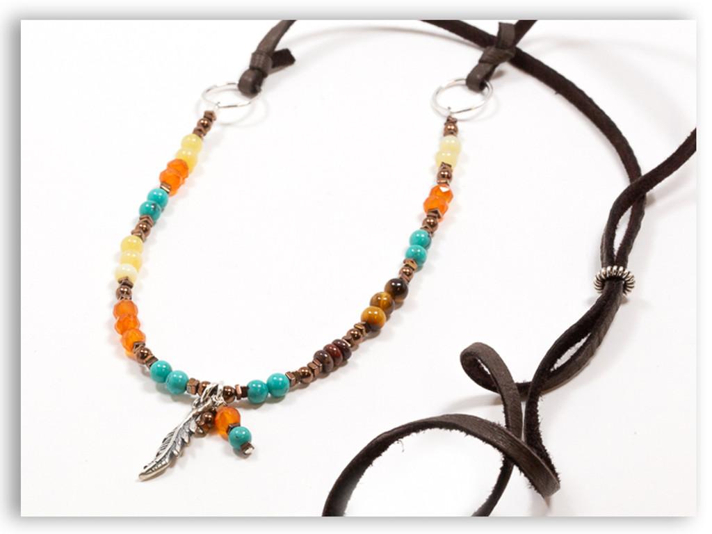 Fly Precious Stones Necklace