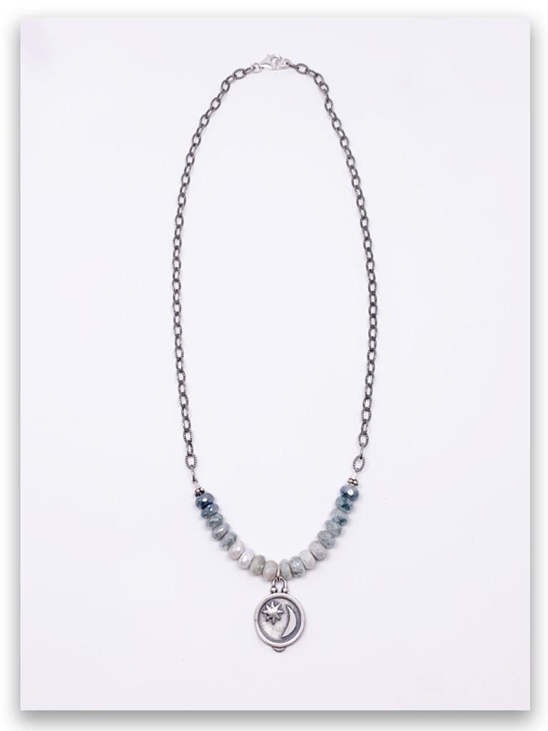 Journey of Light Silverite Necklace