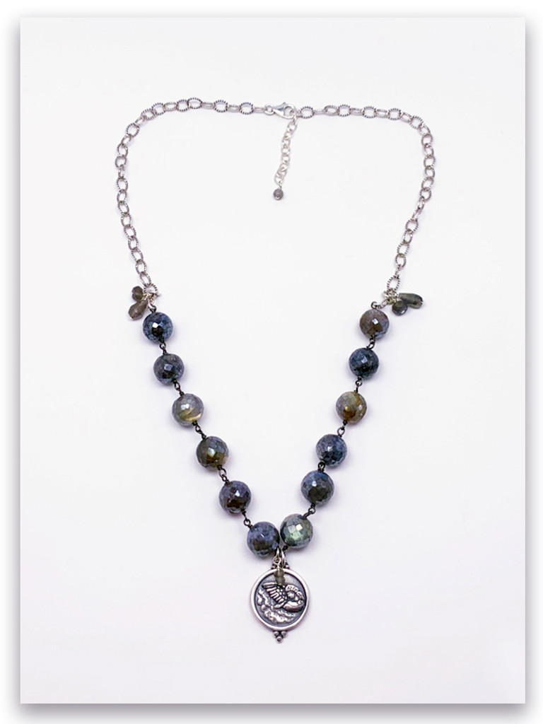 Angel Messenger Labradorite Necklace