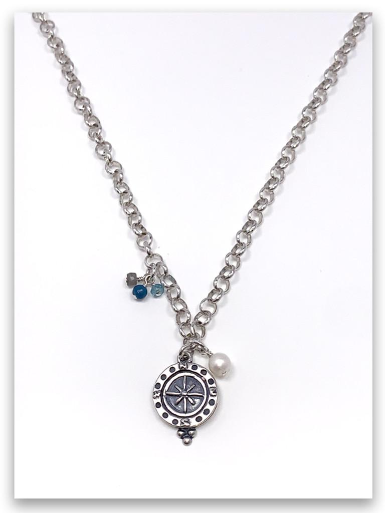 Spirit Lead Me Rolo Chain Necklace