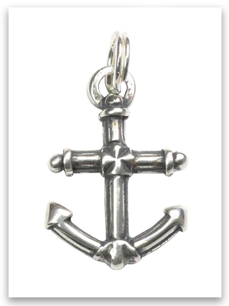 Sterling Silver Anchor Charm