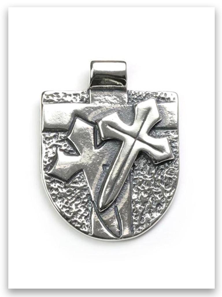 Armor of God Sterling Silver Pendant