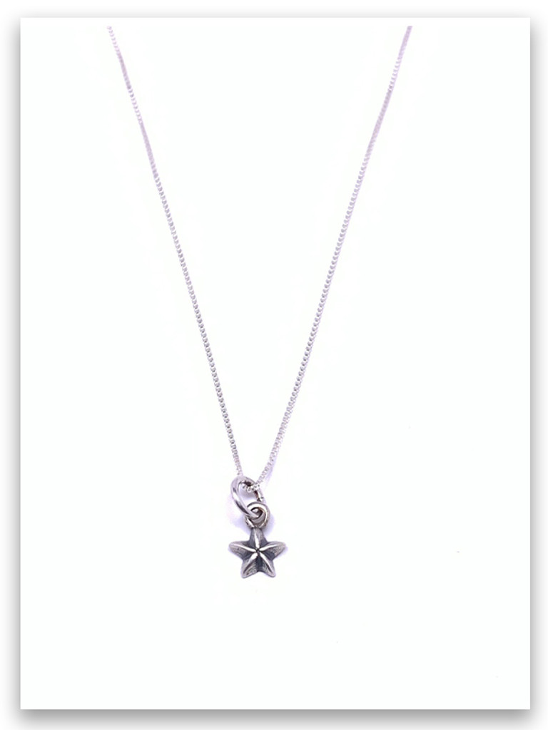 Sterling's Be A Star  Necklace