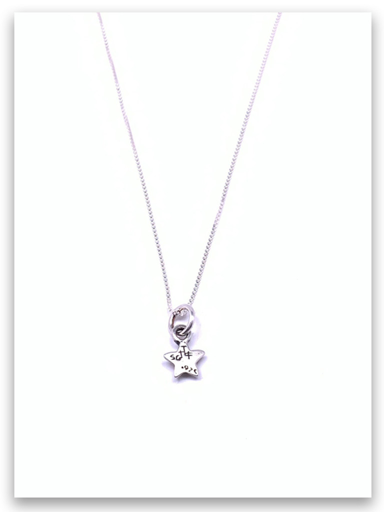 Be A Star Sterling Silver Necklace
