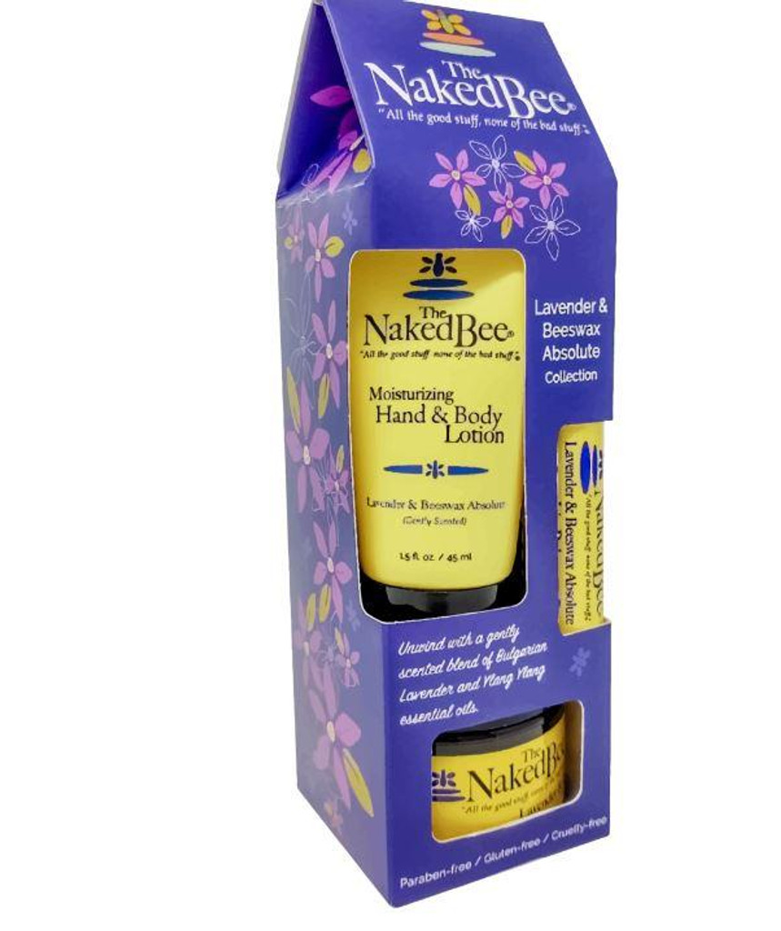 The Naked Bee Lavender & Beeswax Absolute Gift