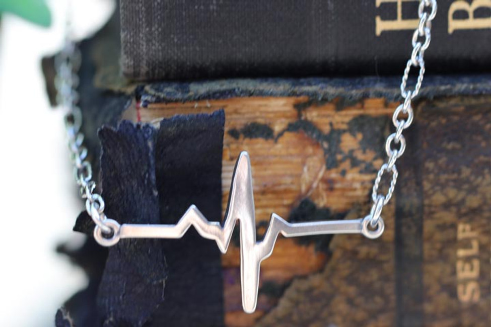A New Heart-Heart Beat Necklace