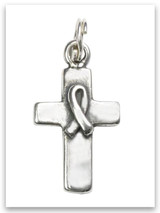 Sterling Silver Cross of Hope Charm
