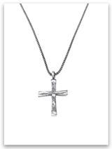 Power of God Cross w/Medium Box Chain
