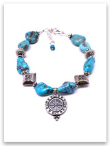 Spirit Lead Me (vintage) Sleeping Beauty Turquoise Bracelet