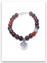 Shine for Jesus Topaz and other Semi Precious Stone Bracelet