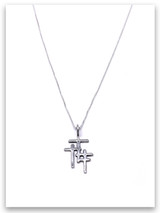 Trio Cross Grace Kid's Necklace