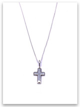 Latin Cross Grace Kid's Pendant Necklace