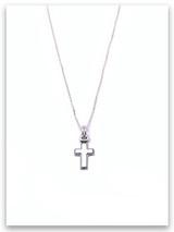 Latin Cross Grace Kid's Necklace