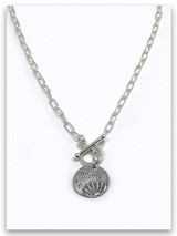Mom Toggle Chain Necklace