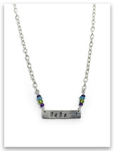 Personalize It Birthstone Necklace