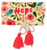 Hope Embroidery Jewelry Organizer