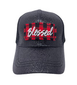 Blessed Buffalo Plaid Hat
