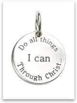 Sterling Silver I Can Charm
