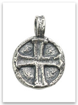 Sterling Silver Jesus Wept Pendant