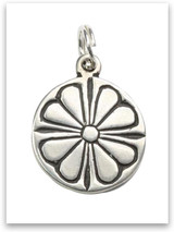 Sterling Silver Peace of the Lord Charm