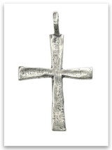 Sterling Silver Power of God Cross Pendant