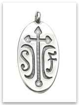 Sister Friends Sterling Silver Pendant